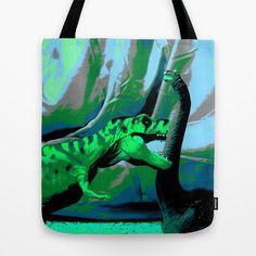 Death by REX Tote Bag by Megan Spencer - $22.00