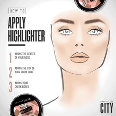 One, two, three, and you're ready to glow with Maybelline's Master Glaze Highlighter. For more quick tips and beauty inspiration visit Maybelline's blog, CITY.