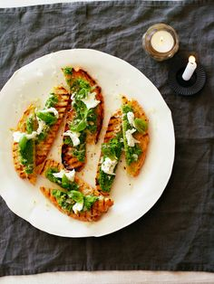 lekkere borrelhappen van easy tot high end Mozzerella, Bruschetta, Lunches, Avocado Toast, Food Inspiration, Bbq, Appetizers, Snacks, Dinner