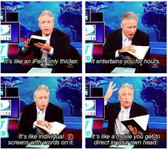 The Daily Show.  Love it.