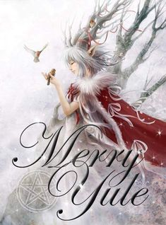 Merry Yule Fairy Art