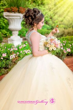 Quinceanera Photography in Houston Texas Dama Dresses, Quince Dresses, Quince Hairstyles, Wedding Hairstyles, Pretty Quinceanera Dresses, Wedding Dresses, Quinceanera Party, 15 Birthday Dresses, Book 15 Anos