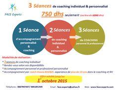 3 séances de coaching individuel avec Coach Hasna KHOBZI