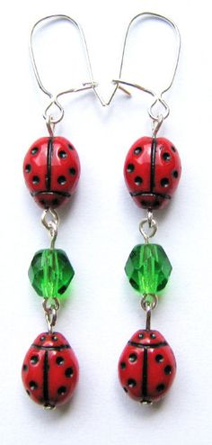 Ladybugs XVIII by woodfairy on Etsy, $10.00