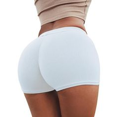 Summer Sexy Shorts Tight Stretch Fitness Sports Wear Skinny Short Pants Breathable Female Push Up Gym Clothing Yoga Shorts, Sexy Shorts, Skinny Shorts, Dance Shorts, Shorts With Tights, Mini Shorts, Running Shorts, Workout Shorts, Summer Shorts