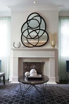 Are you considering decoration your fireplace mantle? We love to bringing attention to the fireplace mantle using intentional decor. Decorating your fireplace mantle does not have to be hard. Keep reading as we share 10 ideas for how to decorate your fireplace mantel like a pro. Hadley Court Interior Design Blog by Central Texas Interior Designer, Leslie Hendrix Wood
