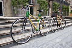 Vélo urbain et fixie en bambou