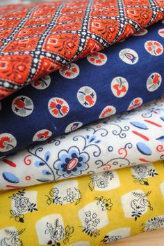 Fall for Cotton: vintage fabric shopping, part 2 | By Gum, By Golly