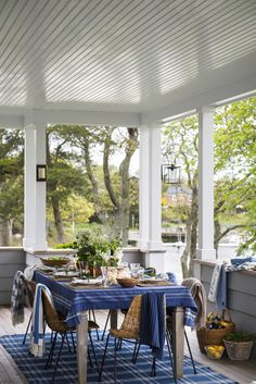 The Lexington Company is known for offering luxury designs in home textiles and apparel for men and women, inspired by 'New England style' - trends. Shop for the latest home collections & fashion from Lexington. Fall 2017 is here with new arrivals. Lexington Style, Lexington Home, Lexington Company, New England Decor, New England Style, Outdoor Rooms, Outdoor Living, Outdoor Decor, Blue Furniture