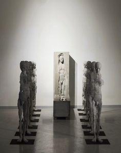 human sculptures