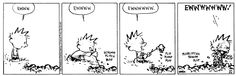Calvin and Hobbes Comic Strip, March 04, 1992 on GoComics.com