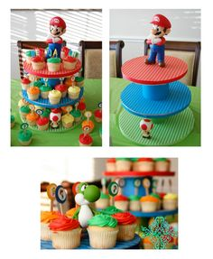luigi party ideas | Super Mario Bros Party Ideas | yvonnebyattsfamilyfun