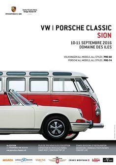 Vw Porsche Classic Sion 2016 (Suisse)