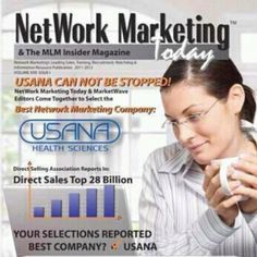 "USANA Health Sciences is still #1 ... JOINT TEAM USANA TODAY and start ""Living the Dream""!"