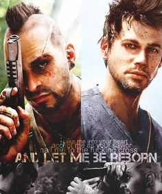 Favorite Protagonist/Antagonist Relationship - Jason Brody and Vaas Montenegro (Far Cry 3)