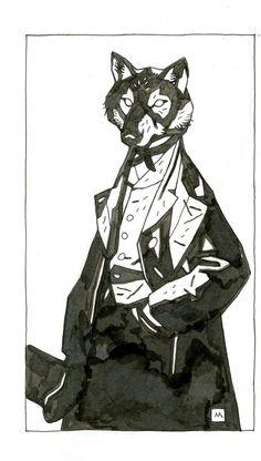 Grimsy Regards A Fly by Mike Mignola Hellboy Wallpaper, Hellboy Tattoo, Mike Mignola Art, Science Fiction Art, Creature Design, Comic Artist, Art Sketchbook, Animal Design, Comic Books Art