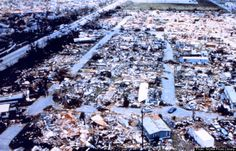 Hurricane Andrew (1992) I took Air Force One and the president into the fray. The Florida governor didn't let the president respond immediately for what I thought were political reasons - putting politics in front of people. ?!