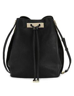 Leather Duffle Cross-Body Bag Clothing