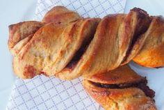 Snurra kanelstenger med kanel & eplepyll; sukkerfri og fettfattig