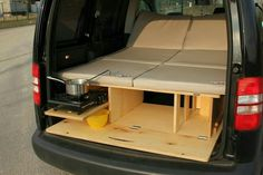 - The clever and inexpensive camping box z . You want your camp . - BiberBox – The clever and inexpensive camping box z … You want to expand your camper? Here you -BiberBox - The clever and inexpensive camping box z . You want your camp . Auto Camping, Minivan Camping, Truck Camping, Camping Hacks, Kangoo Camper, Suv Camper, Mini Camper, Camper Van, Honda Element Camping