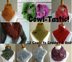 Fiber Flux...Adventures in Stitching: Cowl-Tastic! 12 Cowls to Crochet & Knit