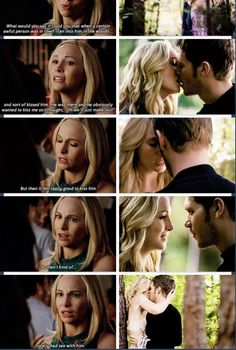 The vampire diaries. This is my life. Lol i love caroline shes so funny