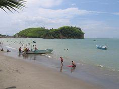 Esmeraldas and surrounding beaches Sua and Atacames.