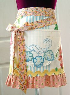 Spring is Coming Couture Apron