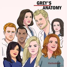 Greys Anatomy Characters, Greys Anatomy Facts, Grey Anatomy Quotes, Grays Anatomy, Lexie Grey, Owen Hunt, Derek Shepherd, Jackson Avery, Meredith Grey