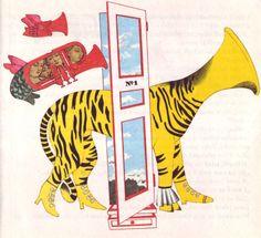 All sizes | 02 Kveta Pacovska, illus. for Jak Se Hraje Na Dvere a Jine Muzikantske Pohadky by Ilja Hurnik (Czech, 1973) | Flickr - Photo Sharing!