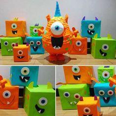 Resultado de imagen para piñatas monstruos