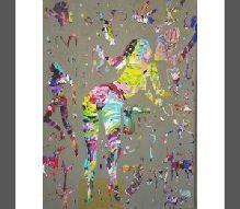 11-Memduh KUZAY (1957)  Tuval üz. y.b. İmzalı, 2003 tarihli.  80 x 60 cm  2.000 TL
