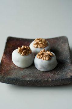 walnut rice cake