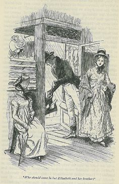Illustrations by Hugh Thomson for a 1915 edition of Jane Austen's Emma.