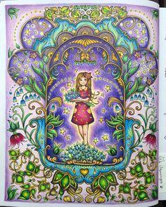 "147 Likes, 17 Comments - Jopaurigeo (@jopaurigeo) on Instagram: ""My Ivy#ivyandtheinkybutterfly #johannabasford #inkyivy #colorindolivros #coloringmasterpiece…"""