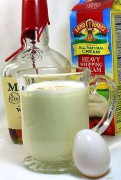 Eggnog... Real Old Fashioned Bourbon Egg Nog... Yeap, it's easy and fun to make...