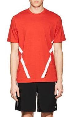 Shirt Blackbarrett Blend Angled blackbarrett cloth T Stripe Cotton qSF6pq