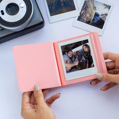 Instax Square album for photos in photo album + 1 for album cover) photos of your sweet memories. The Square album is the perfect way to keep all your captured moments organized. - Album for Instax photo cameras and Instax Share printer. Instax Mini Album, Polaroid Instax, Instax Mini Camera, Polaroid Photo Album, Polaroid Photos, Polaroid Ideas, Polaroid Pictures Display, Instant Print Camera, Minimal Photography