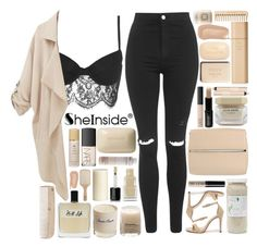 """""""Sheinside Loose Pockets Coat"""" by xgracieeee ❤ liked on Polyvore featuring Topshop, Tom Ford, 100% Pure, Pier 1 Imports, Philip Kingsley, Lord & Berry, NARS Cosmetics, Burberry, Sisley Paris and Olfactive Studio"""
