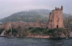 Urquhart Castle, Inverness, Scotland. Where I see Hyacinthe living after becoming Master of the Straights!