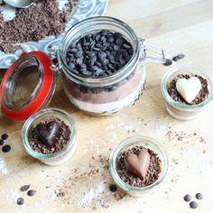 Backmischung im Glas - Brownies