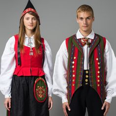 Norwegian Bunad from Oppdal Norway Culture, Norwegian Clothing, Norwegian People, Norwegian Style, Folk Clothing, Folk Costume, Cool Costumes, Popular, Traditional Dresses