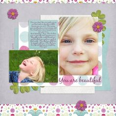 Pretty Paisley kit by Snips and Snails Designs, font is BlackJack, All Laid Out Vol. 8 template by Dawn by Design