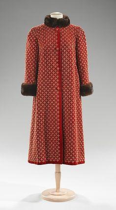 Coat Norman Norell, 1957 The Metropolitan Museum of Art