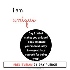 The biggest challenge in life is to be yourself in a world that is trying to make you like everyone else. - Ralph Waldo Emerson (poet)  #believeiam 21 days to form a habit of self belief | Believe you are unique