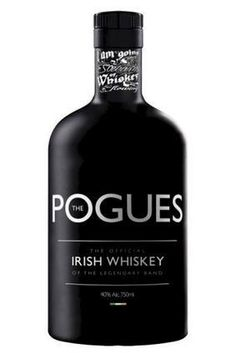 """Product Launch - West Cork Distillers The Pogues Irish whiskey """"Paddy Rock Whiskey"""""""