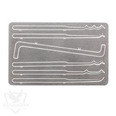 Vigilant Gear Titanium Entry Card 6-Piece