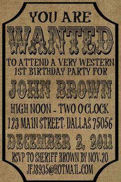 Birthday invitation.  Could also be transformed into a wedding invitation.