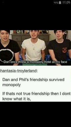 AmazingPhil & Danisnotonfire - Community - Google+ I'm not the biggest Dan and Phil fan but this is just yes.