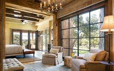 Looking for Rustic Bedroom and Master Bedroom ideas? Browse Rustic Bedroom and Master Bedroom images for decor, layout, furniture, and storage inspiration from HGTV. Rustic Room, Farmhouse Master Bedroom, Rustic Barn, Modern Rustic, Bedroom Rustic, Contemporary Country Home, Rustic Feel, Rustic Style, Hill Country Homes